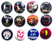 MISFITS (3) comedy Awesome Quality Lot 12 New Pin Pinback Button Badge 3.2cm