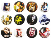 NIRVANA Kurt (1) Awesome Quality Lot 12 New Pins Pinback Button Badge 3.2cm