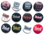 SLIPKNOT Joey (1) Awesome Quality Lot 12 New Pins Pinback Button Badge 3.2cm