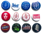 SLIPKNOT Joey (2) Awesome Quality Lot 12 New Pins Pinback Button Badge 3.2cm