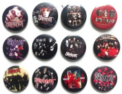 SLIPKNOT Joey (4) Awesome Quality Lot 12 New Pins Pinback Button Badge 3.2cm