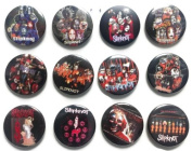 SLIPKNOT Joey (5) Awesome Quality Lot 12 New Pins Pinback Button Badge 3.2cm