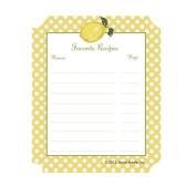 C.R. Gibson Jessie Steele Cookbook Stickers, Summer Lemons