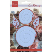 Ecstasy Crafts Creatables Dies - Flower Buds And Leaves - Die Set