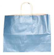 Premier Packaging AMZ-280303 12 Count Colours on Kraft Gift Bag, 16 by 15cm by 32cm