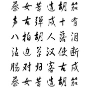 JAPANESE SCRIPT BACKGROUND Cling Stamp