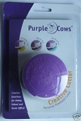 Purple Cow - Creative Cutter Straight Cut, Wave Cut and Performated Cut