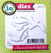 Impression Obsession io Steel Die # DIE078-F Sea Birds Die US American Made