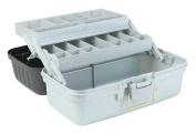Creative Options 6102-77 Fine Arts 2-Tray Art Box with Auto Open Trays