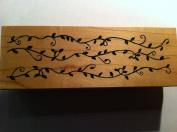 Swirly Vines Rubber Stamp