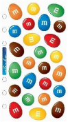M & M Candy Mix Scrapbook Stickers