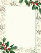 Gartner Studios Stationery Papeterie Paper 100 Count Noel Christmas