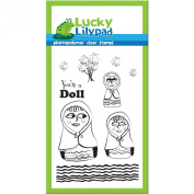 Lucky Lilypad Clear Stamps, You're a Doll, 10cm by 15cm