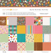 American Crafts Autumn Crisp 12x12 Fall Paper Pad