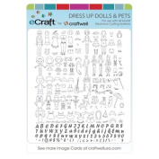 Craftwell Ecraft SD Image Cards, Dress Up Dolls and Pets