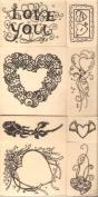 Craft Essentials Valentine Stamp Value Pack