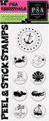 PSA Essentials Peel and Stick Stamps, Anchor's Aweigh