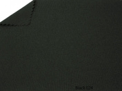 Black 150cm Wide Premium Woven Poly Poplin Fabric By the Yard
