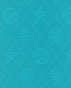 Printed Indoor/Outdoor ODL SHELL TRELLIS CARRIBEANBLUE Fabric / 140cm W / Sold b...