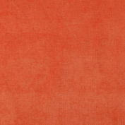140cm Wide D238 Orange, Solid Woven Velvet Upholstery Fabric By The Yard From Microtex