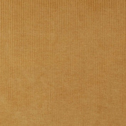 140cm Wide D214 Gold, Striped Woven Velvet Upholstery Fabric By The Yard From Microtex