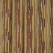 140cm Wide E233 Gold, Orange And Rust Red Abstract Striped Residential And Contract Grade Upholstery Fabric By The Yard