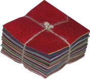 100% Wool Charm Pack