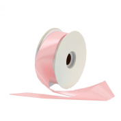 Offray Single Face Satin Craft 2.2cm by 100-Yard Ribbon Spool, Light Pink