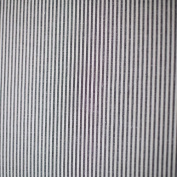 Black Striped Linen Fabric Jazz