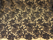 Beautiful Black Lace Fabric 100cm Width Hollow Embroidery France Fashion Bride Wedding Dress Fabric From Randyfabrics By The Yard