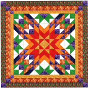 Easy Quilt Kit Autumn Star