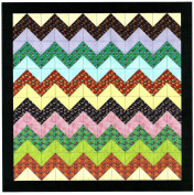 Easy Quilt Kit Chevron Medallions