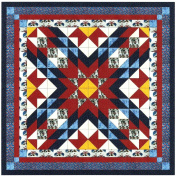 Easy Quilt Kit Patriotic Star