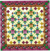 Easy Quilt Kit Jewelled Graden