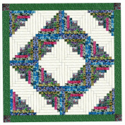 Easy Log Cabin Summer Garden Quilt Kit
