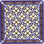 Easy Quilt Beautiful Purple Winding Roads