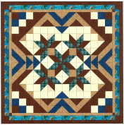 Easy Quilt Kit Heavens Variation Blue/Brown