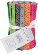 Freespirit Fabrics Designer Essentials 6' Fabric Print Strips 100% Cotton Bold Prints Strip Roll; 3 Items/Order