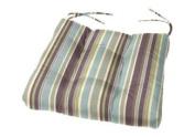 Tufted Chair Cushion | 50cm x 46cm x 10cm | Cushion Source | Seat Cushion | Indoor/Outdoor | Multiple Sunbrella Fabric Options Available