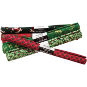 Fabric Editions Fat Quarter Seasonal Assortment 22' Wide 1/4 Yard Cut Christmas 36 piece Assortment