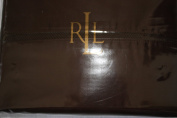 Ralph Lauren Regent Sateen Queen Flat Sheet Dark Brown