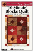 Design Originals DO905 Big Blocks Quick 10 Minute Block Quilting Template