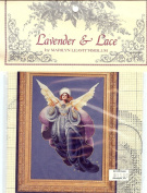 Lavender & Lace Angel of the Morning Cross Stitch Pattern
