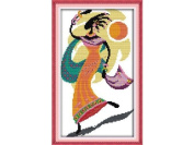 Happy Forever Cross Stitch, Figure, African amorous feelings 3