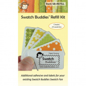 Swatch Buddies Fabric Fan Refill Kit- 3 Pack