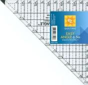 Easy Angle Tool 15cm - 1.3cm Half-Square Triangle Ruler