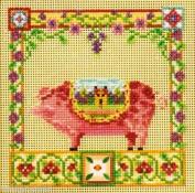 Percy Pig - Cross Stitch Kit