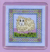 Textile Heritage Coaster Kit - Wee Woolly Sheep