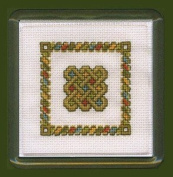 Textile Heritage Coaster Kit - Celtic Knot