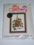 Vintage Jiffy Stitchery Kit #333 - Coleus By Sunset Designs - Dated 1975